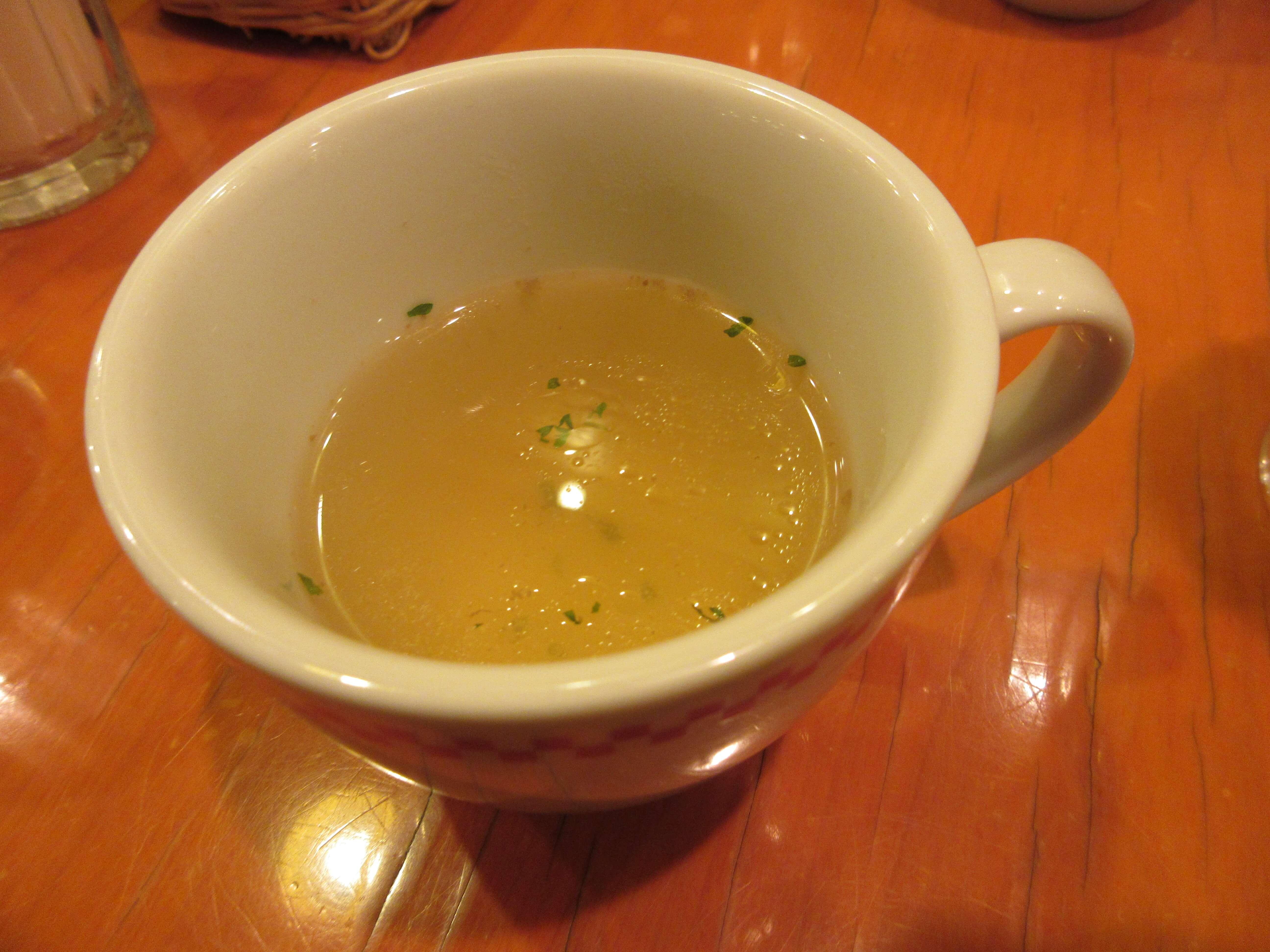 卵と私 札幌アピア店のスープ