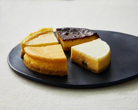 ボーノボーノの4種のアソートチーズケーキ