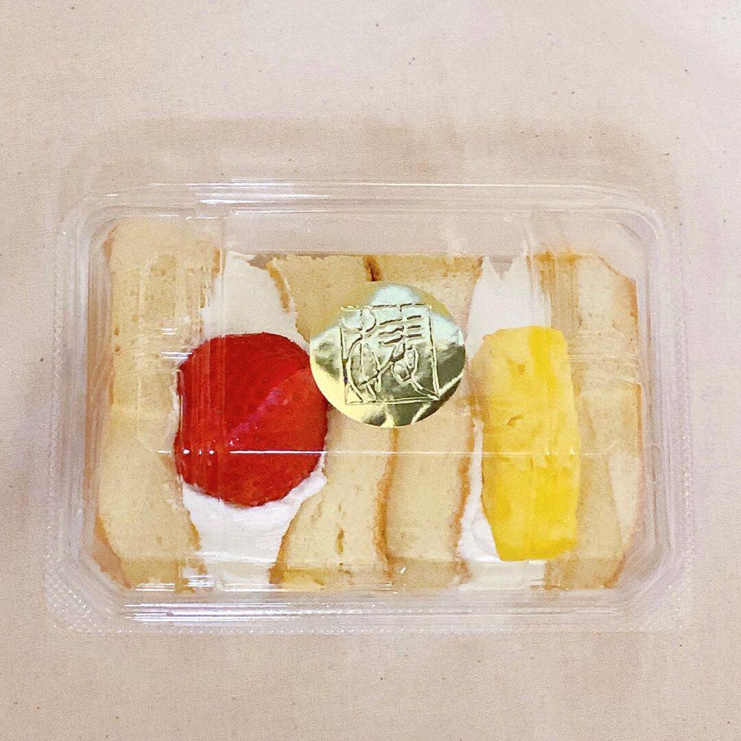 椿さんど 円山本店で買ってきたフルーツサンド