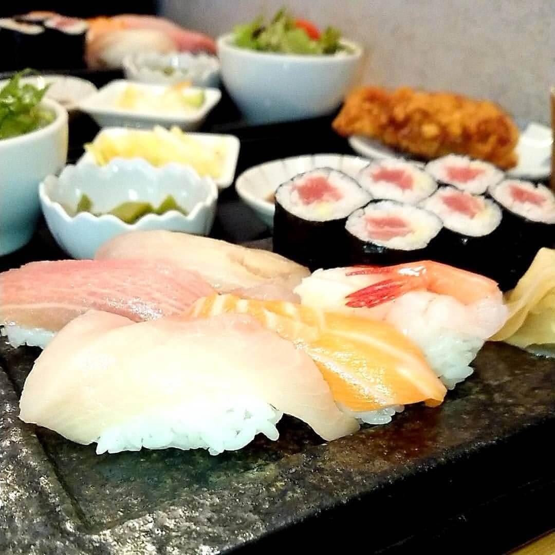 福禄寿のお寿司のセット(寿司アップ)