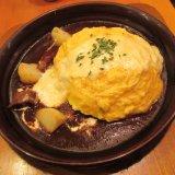 卵と私 札幌アピア店の『とろ〜りチーズのビーフシチューオムライスドリア』