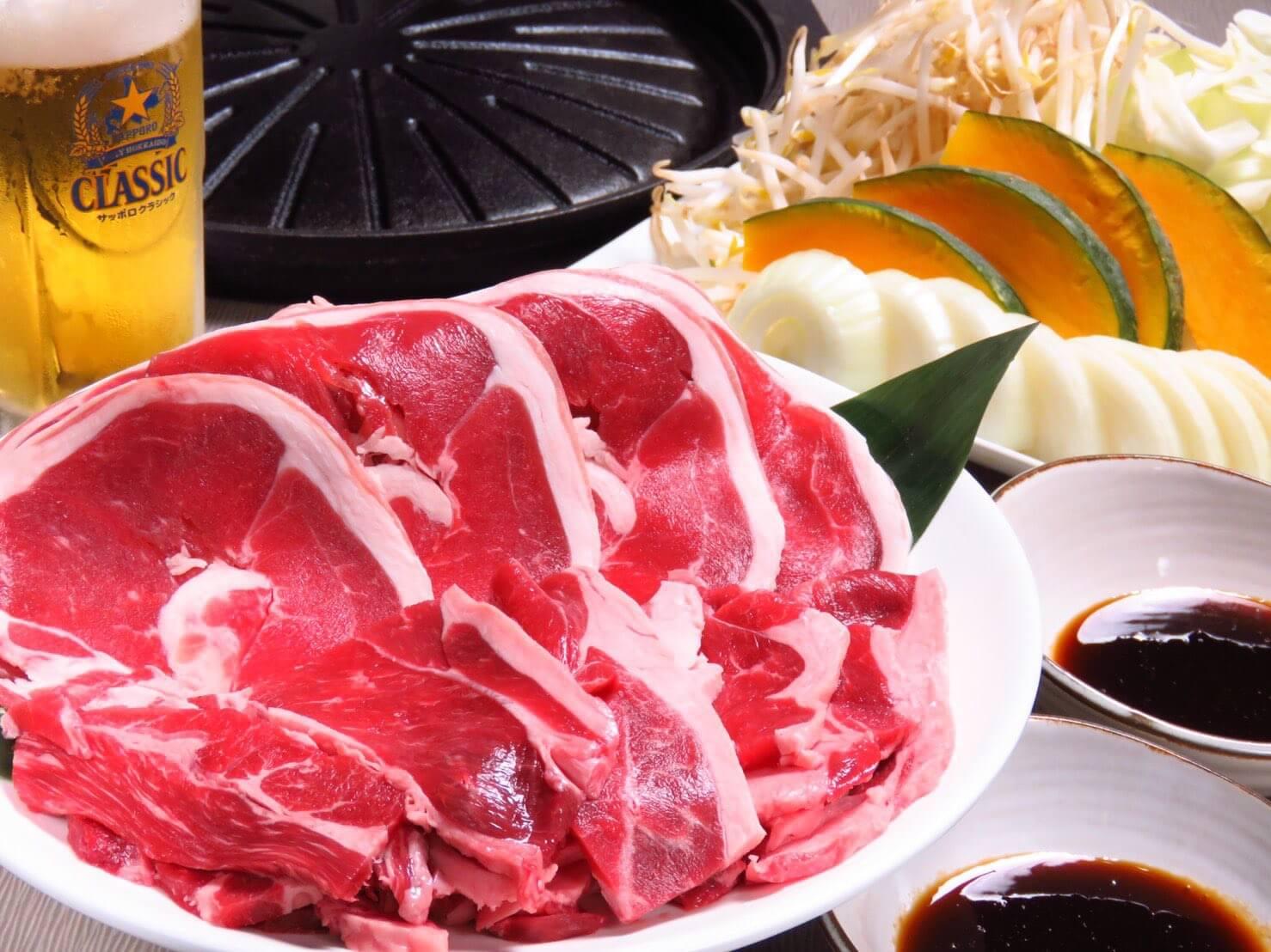 ノルベサビール園で提供している肉各種