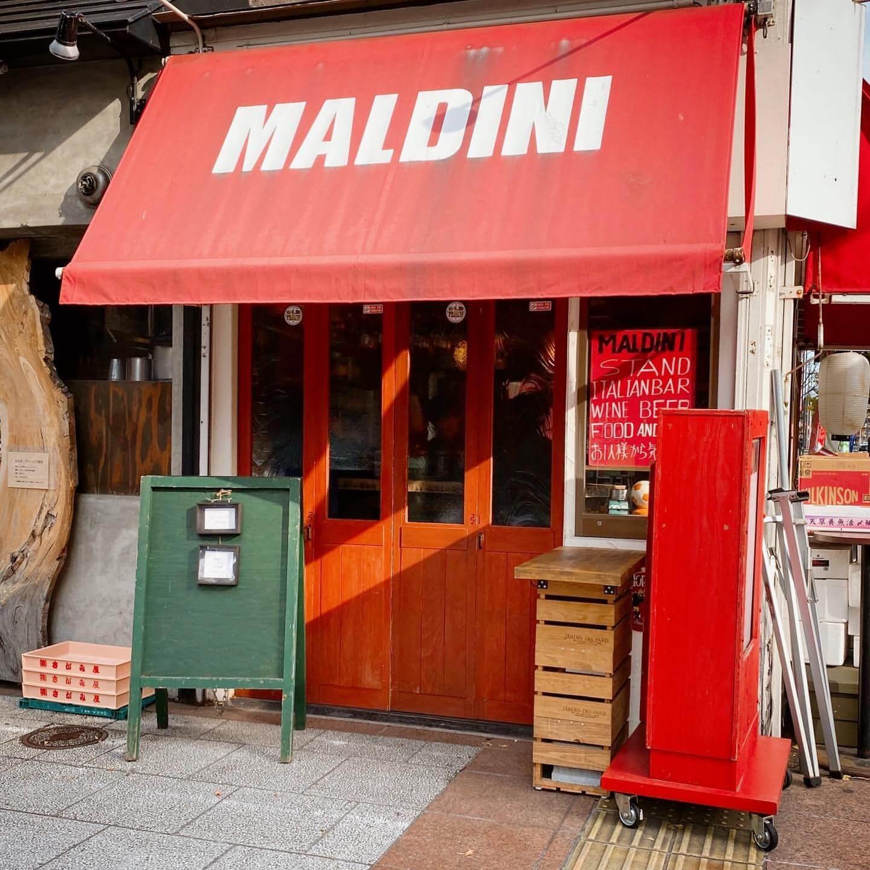 コーヒーヤ タイムが間借り営業しているMALDINI