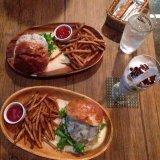 ダイニングバーザ ブルックのハンバーガー