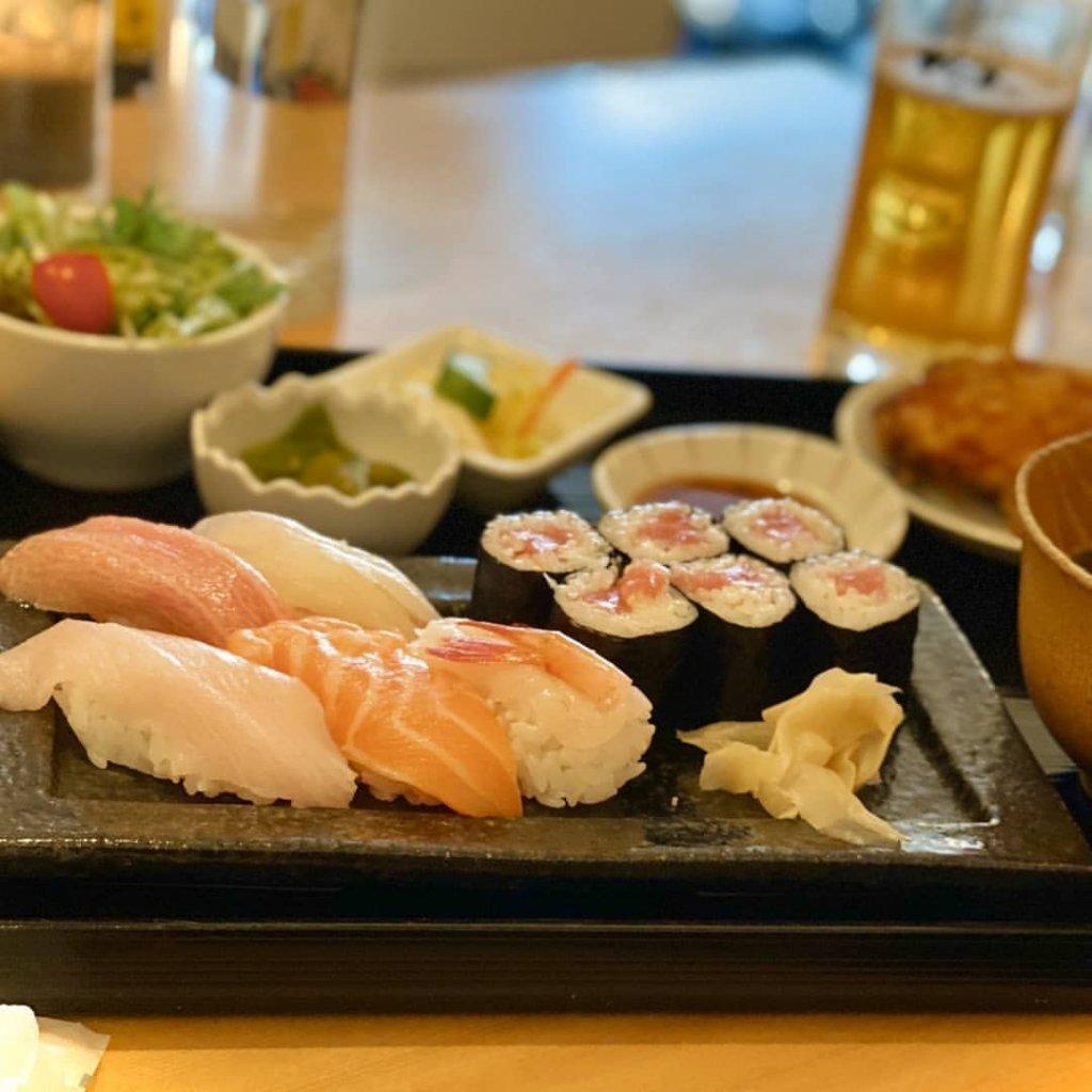福禄寿のお寿司のセット