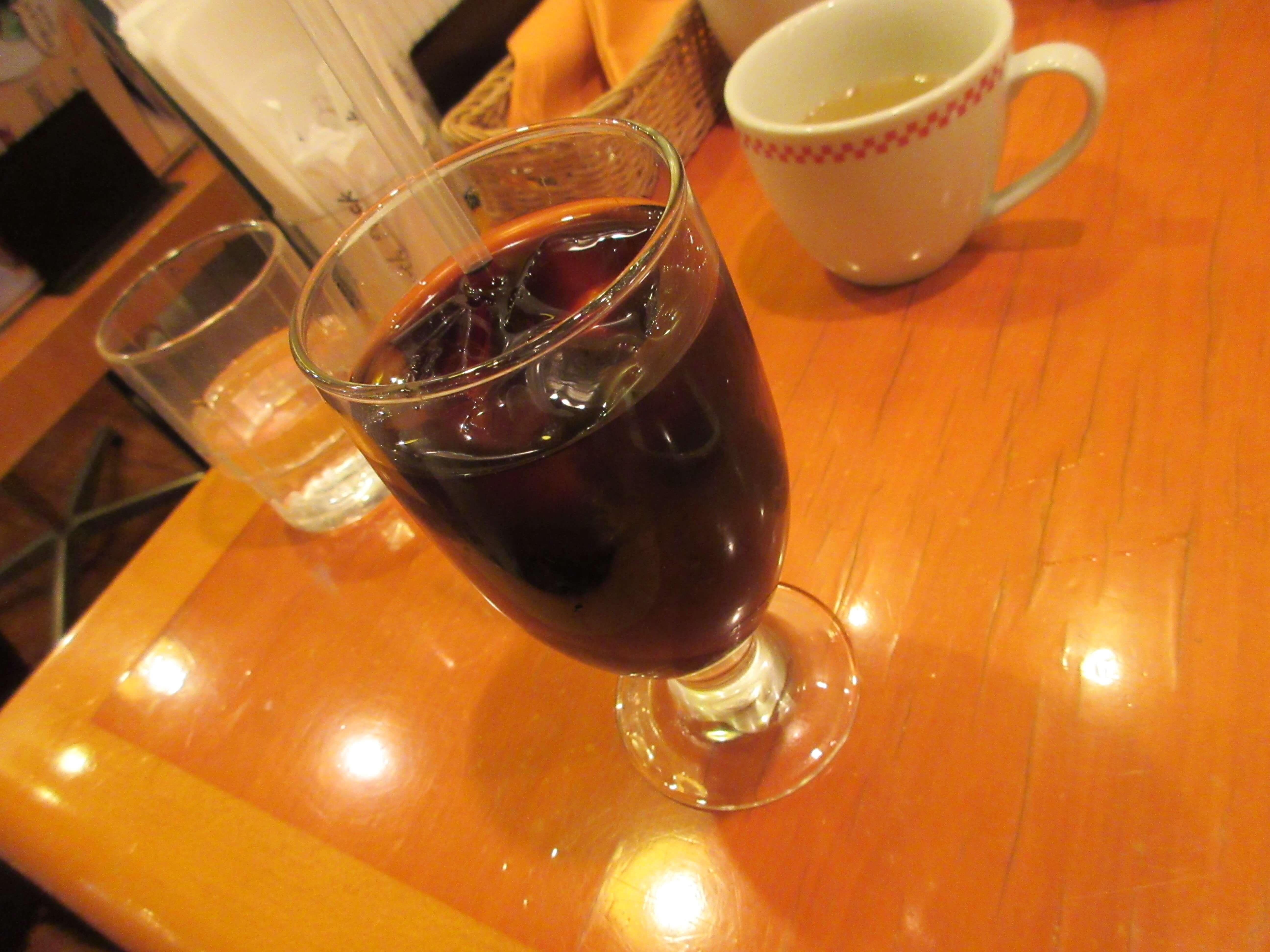 卵と私 札幌アピア店のアイスコーヒー