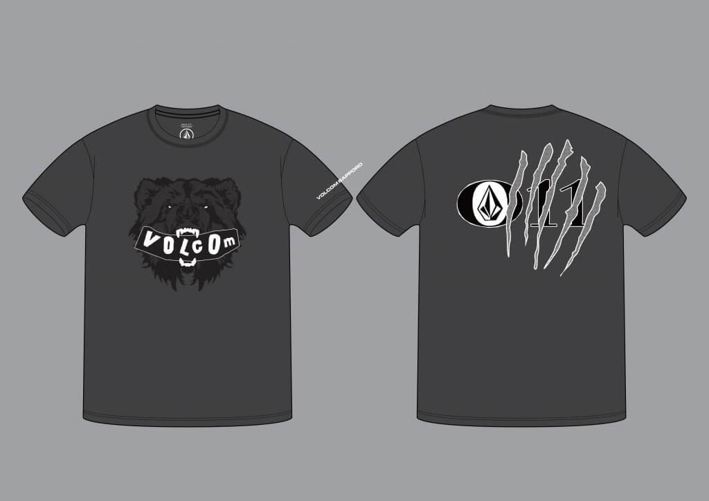 VOLCOM STOREの札幌限定Tシャツ