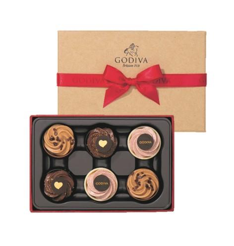 ゴディバの『ゴディバカップケーキショコラ』