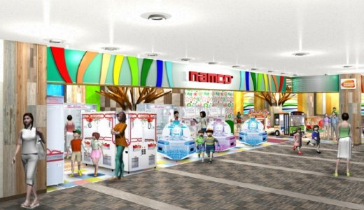 【namcoラソラ札幌店】クレーンゲーム機が充実したファミリー向けアミューズメント施設!