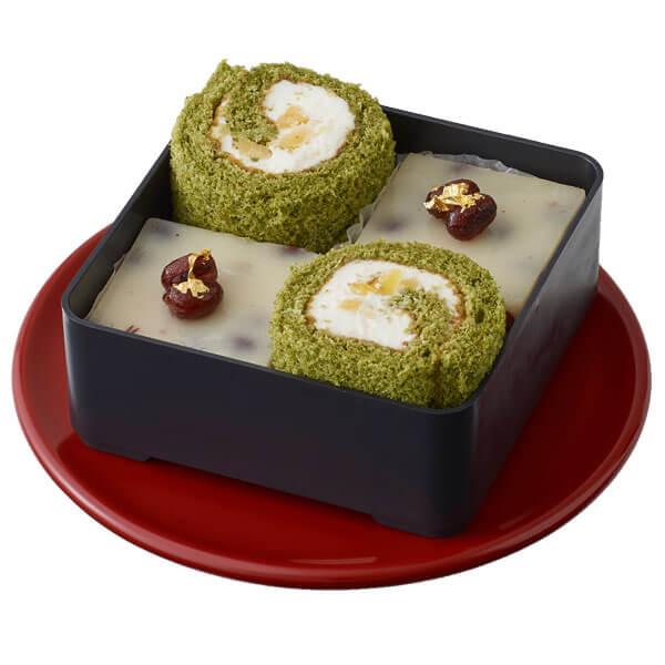 万福アソート(抹茶栗ロール&豆乳羊羹)