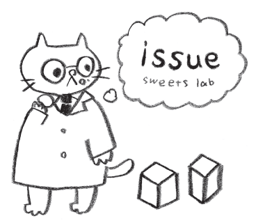 issue sweets labのロゴ