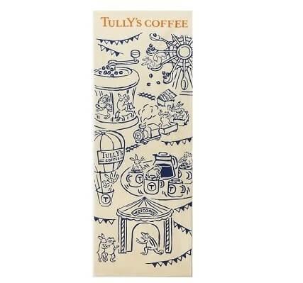 タリーズコーヒーの手ぬぐい
