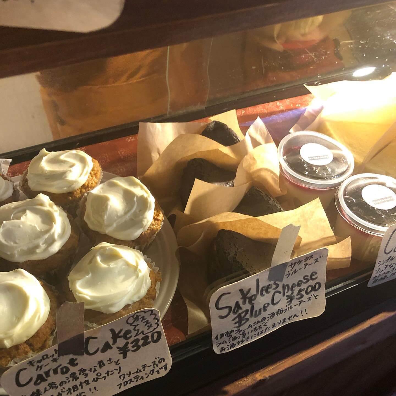 BAKED MUFF(ベイクドマフ)で販売しているキャロットケーキ