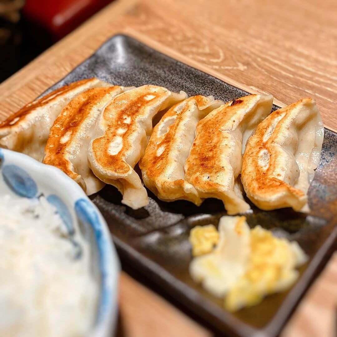 肉汁餃子製造所 ダンダダン酒場 札幌店の餃子ランチ(餃子)
