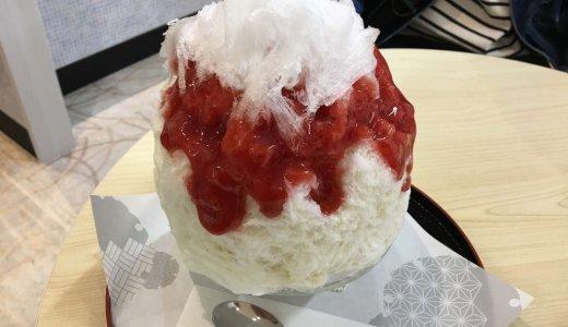 【えぞうさぎ】エスタにあるふわふわかき氷専門店!ら〜めん共和国内だがラーメン後にはちとキツい