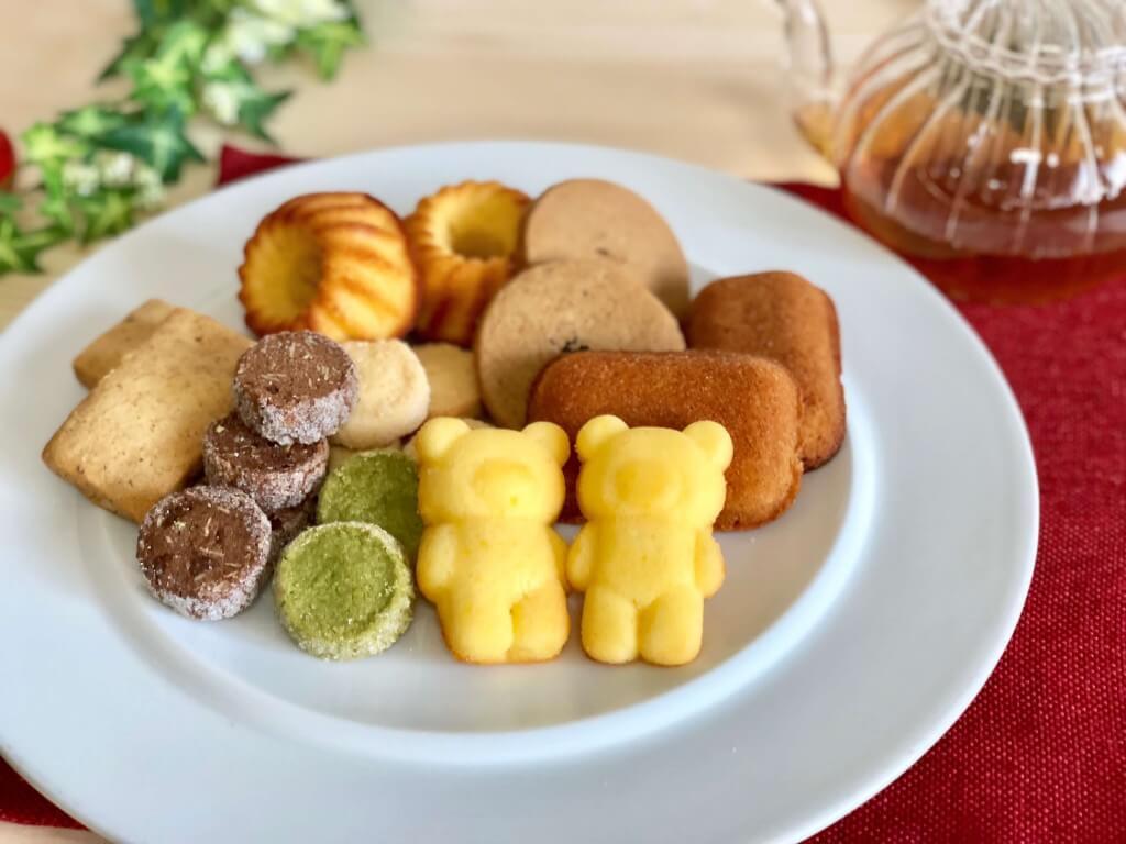 くまのしっぽの焼き菓子