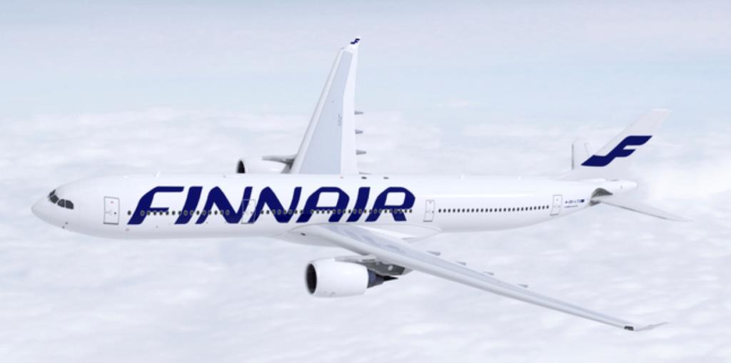 フィンエアーの飛行機