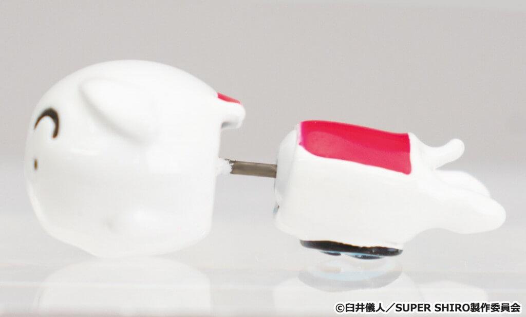 SUPER SHIRO 耳たぶスルーデザインピアス2