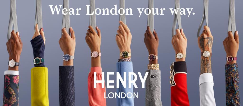 英国の腕時計ブランド『ヘンリーロンドン』