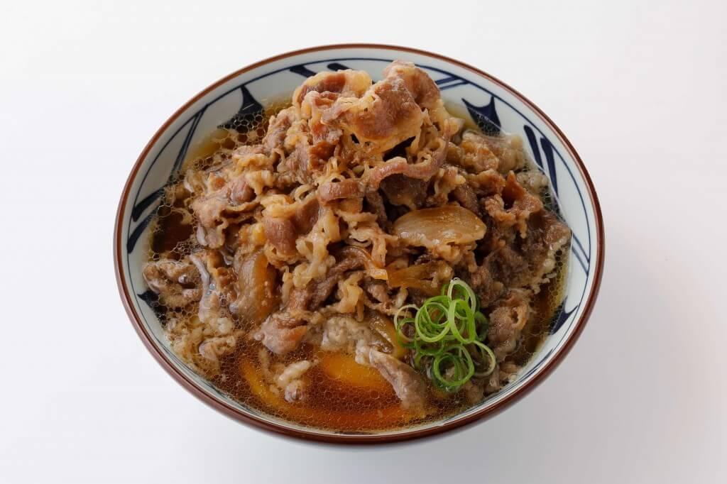 丸亀製麺の『肉うどん』