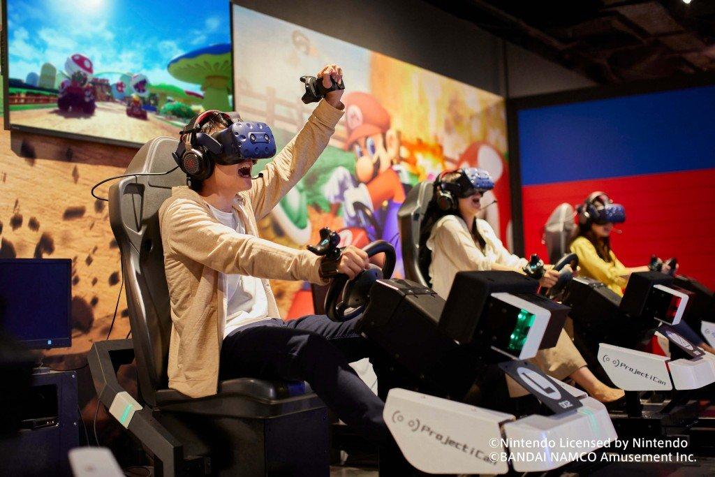 エスタにあるマリオカート アーケードグランプリVRが体験対象年齢を7歳以上に引き下げ!