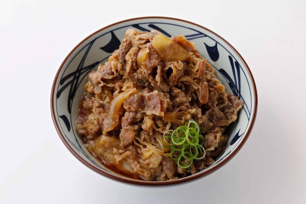 丸亀製麺の『肉ぶっかけ』