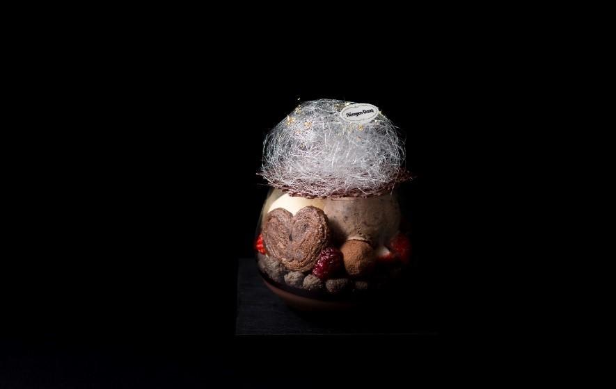 ハーゲンダッツフェアの『大人ビターなショコラパフェ』