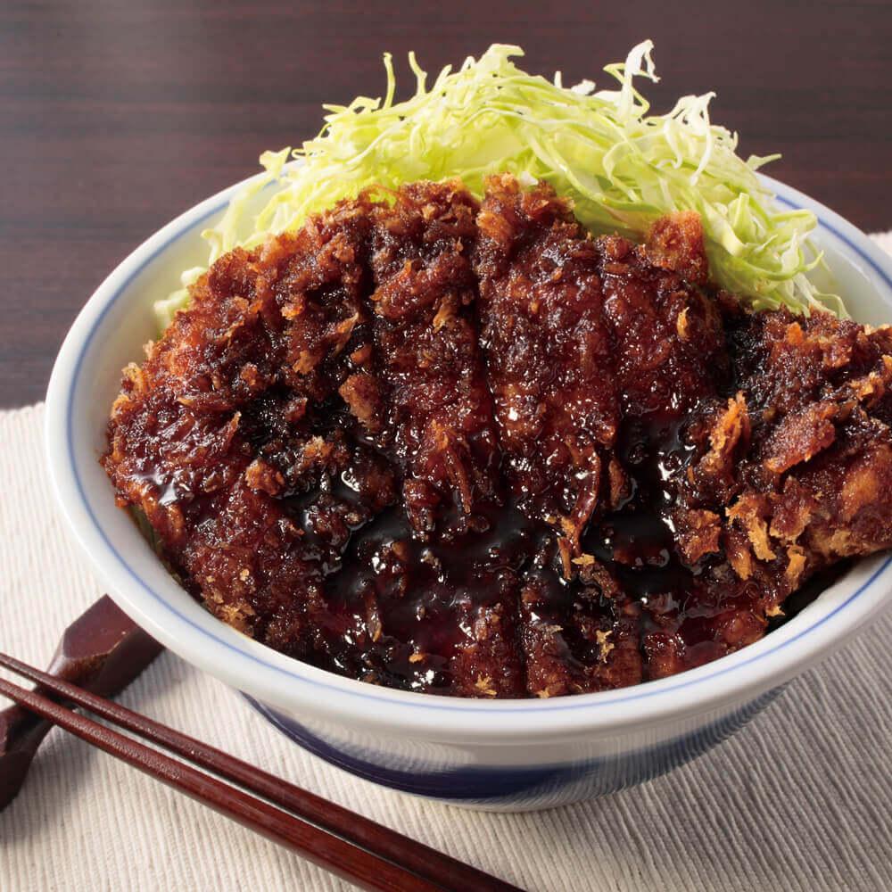 かつやのソースカツ丼(竹) 120gロース