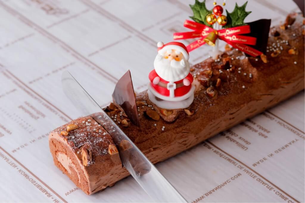 クリスマスディナーブッフェの『ブッシュ・ド・ノエル』