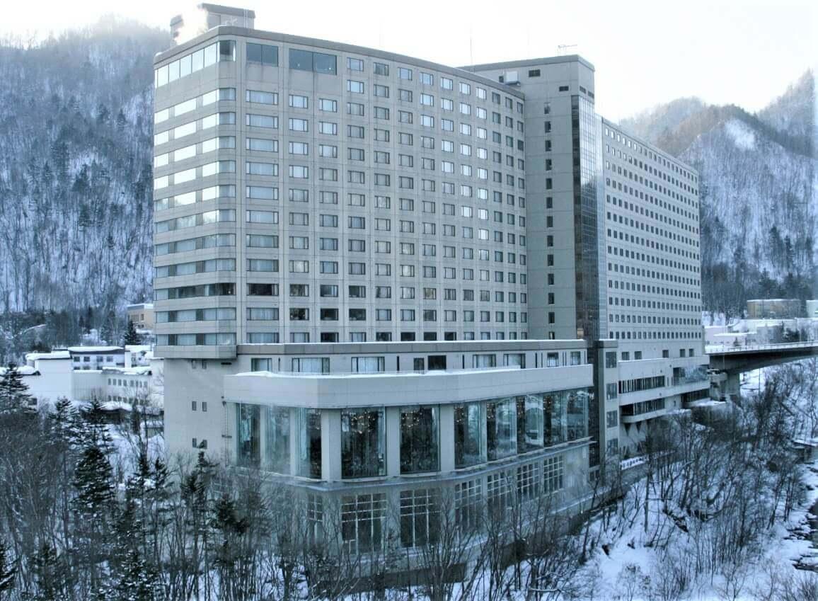 定山渓ビューホテルの外観