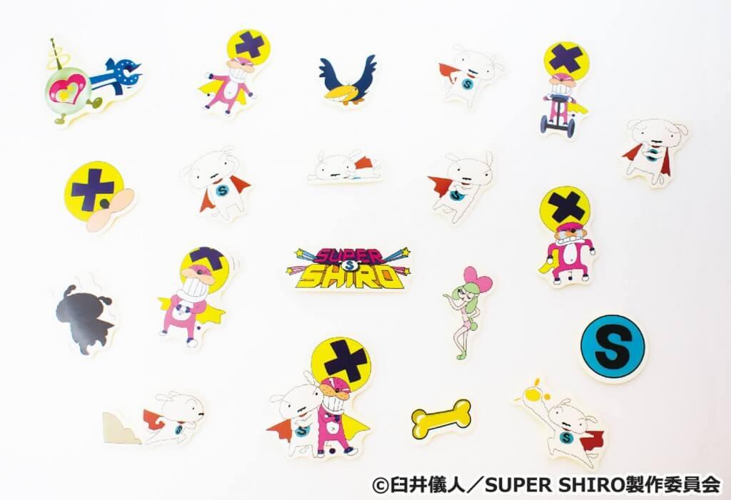 SUPER SHIRO どっさりフレークシール
