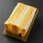 さいき家の『ハムチーズだし巻きサンド』