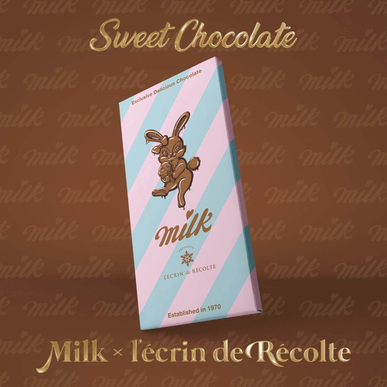 ミルクのバニーチョコレート 1,300円(税込)