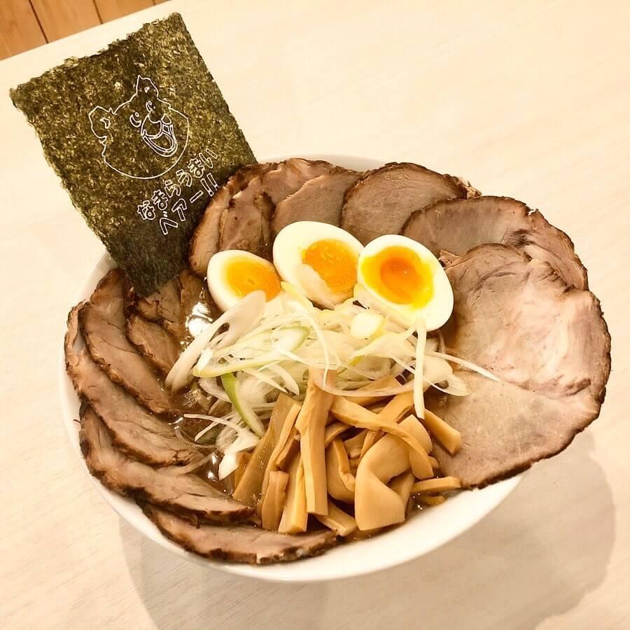 札幌らーめん熊吉の『倍増しチャーシュー麺』