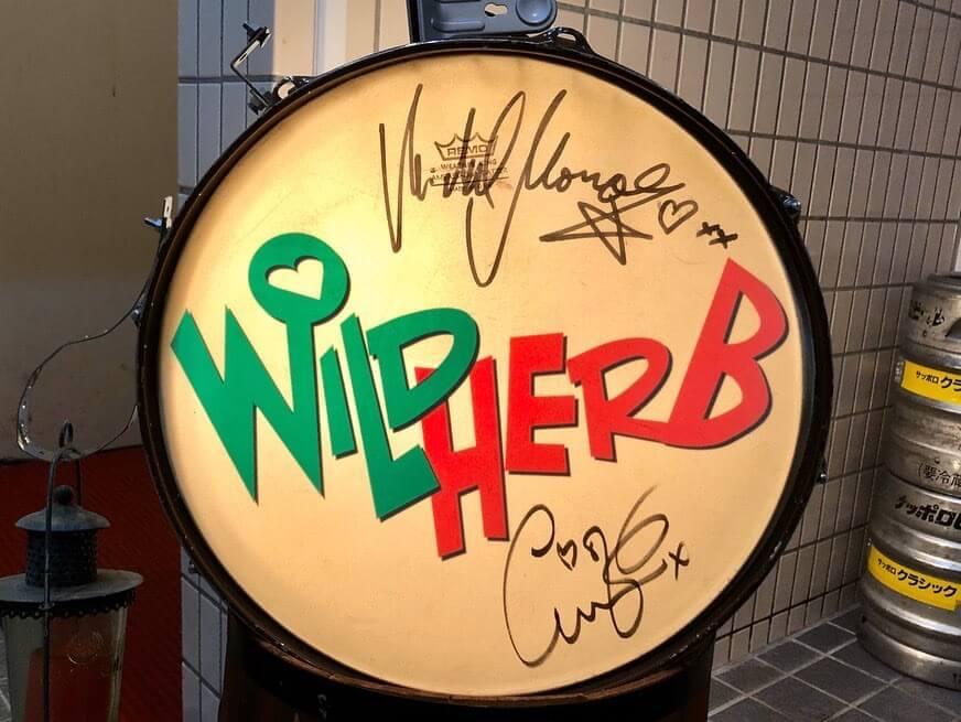 WILD HERB(ワイルド ハーブ)の看板