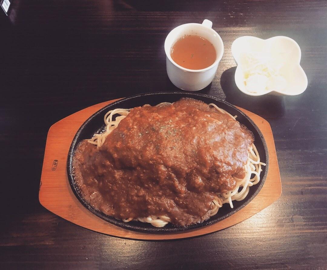 喫茶 MP4のミートソーススパゲティ