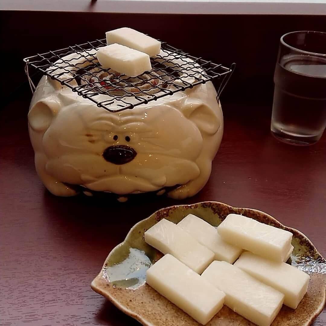 甘味処 さくら庵のお餅