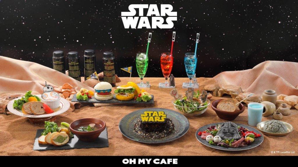「スター・ウォーズ」OH MY CAFEがカフェ インターリュードで開催!コラボメニューも多数販売!
