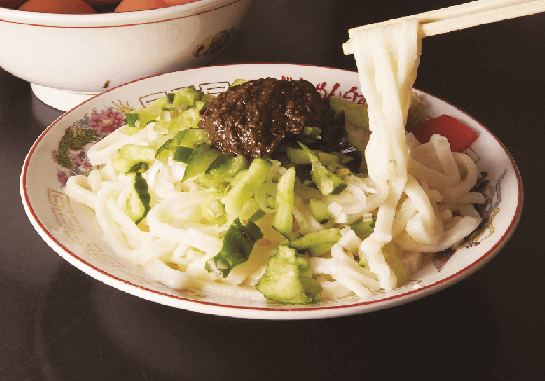 白龍の『じゃじゃ麺』
