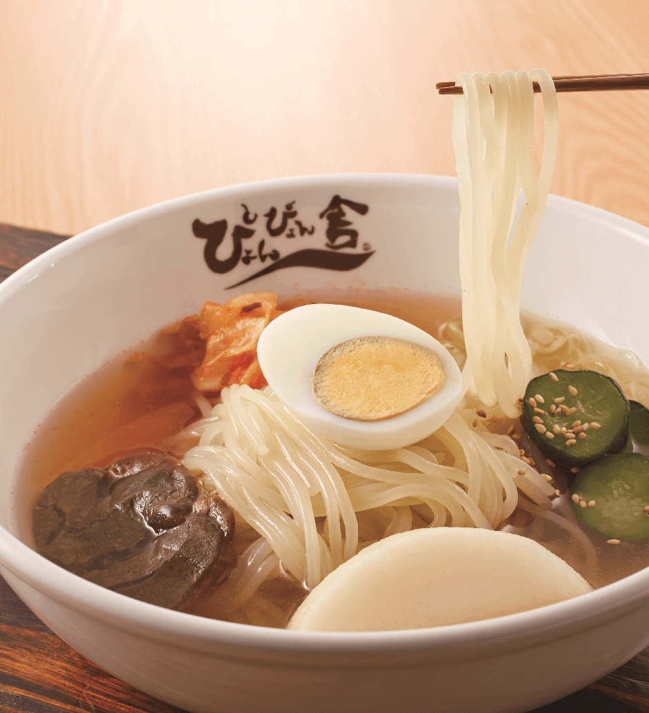 ぴょんぴょん舎の『盛岡冷麺』