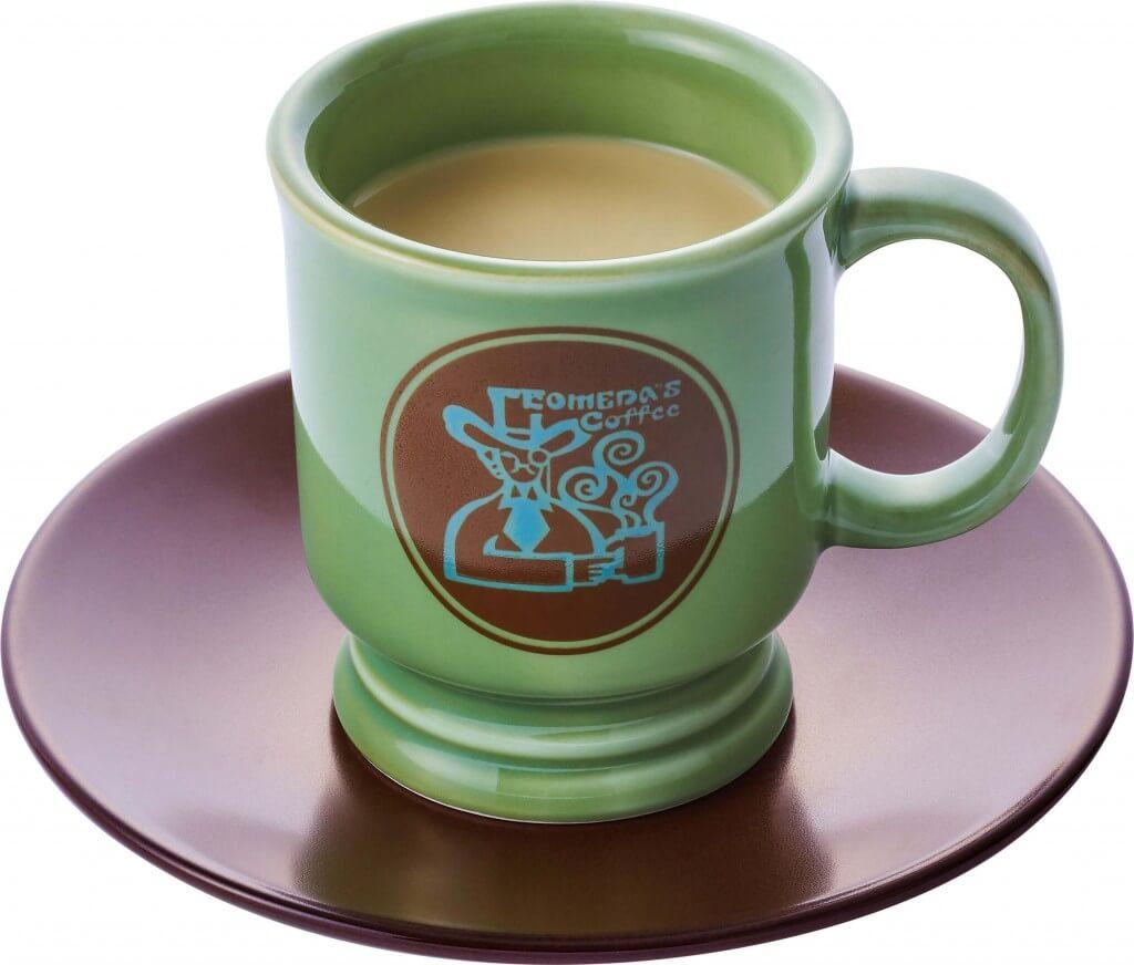 コメダ珈琲店の『黒みつミルクコーヒー』(ホット)