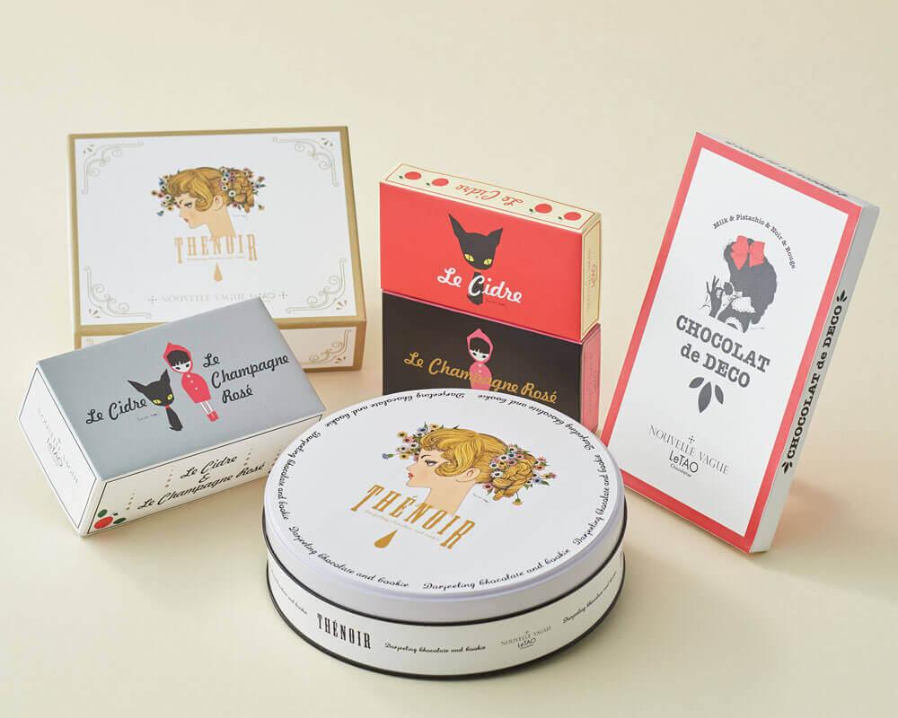 ルタオが画家・中原淳一さんとコラボ!バレンタイン向けの特別コラボレーションパッケージが発売!