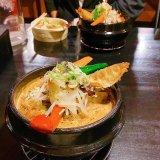 スパイス&ラーメン 橙(だいだい)〜オレンジのカリーラーメン雑炊セット・大辛