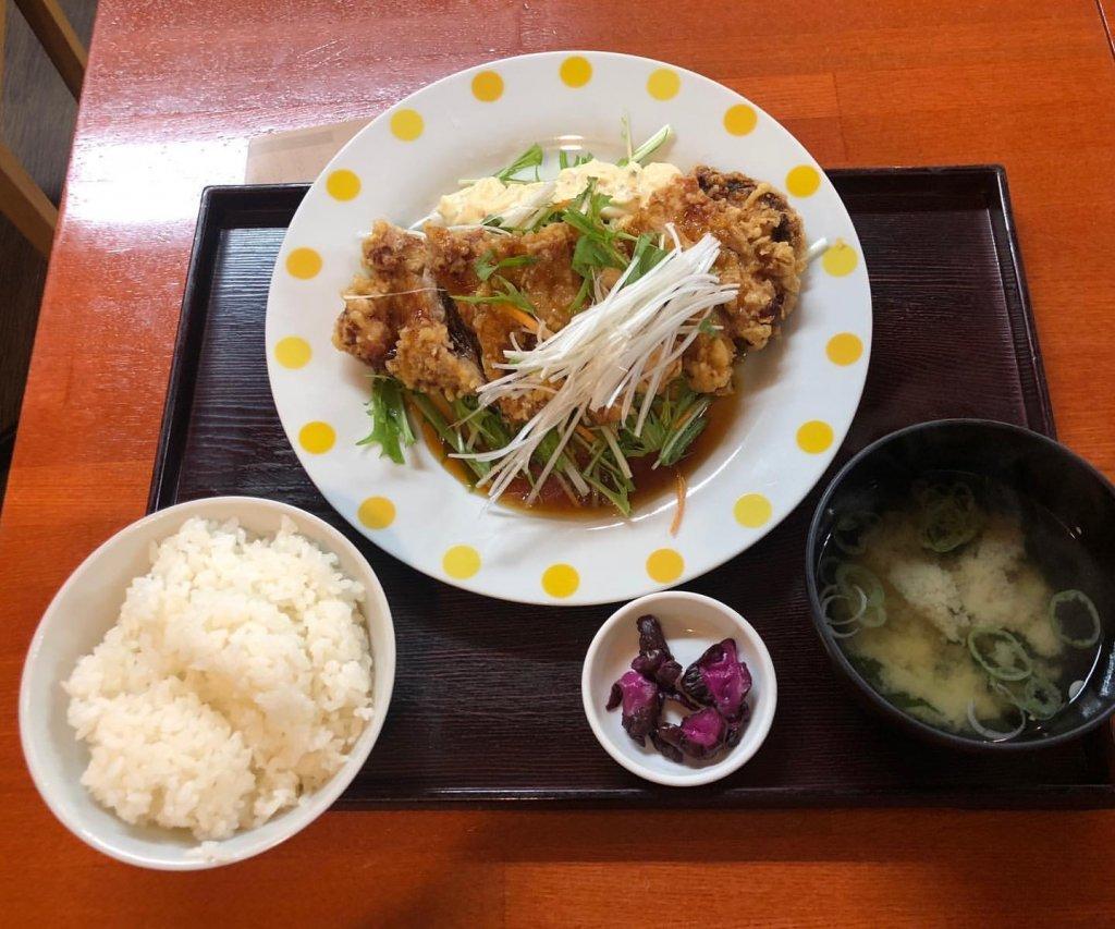 定食屋 ふか河 札幌駅北口店のチキン南蛮定食