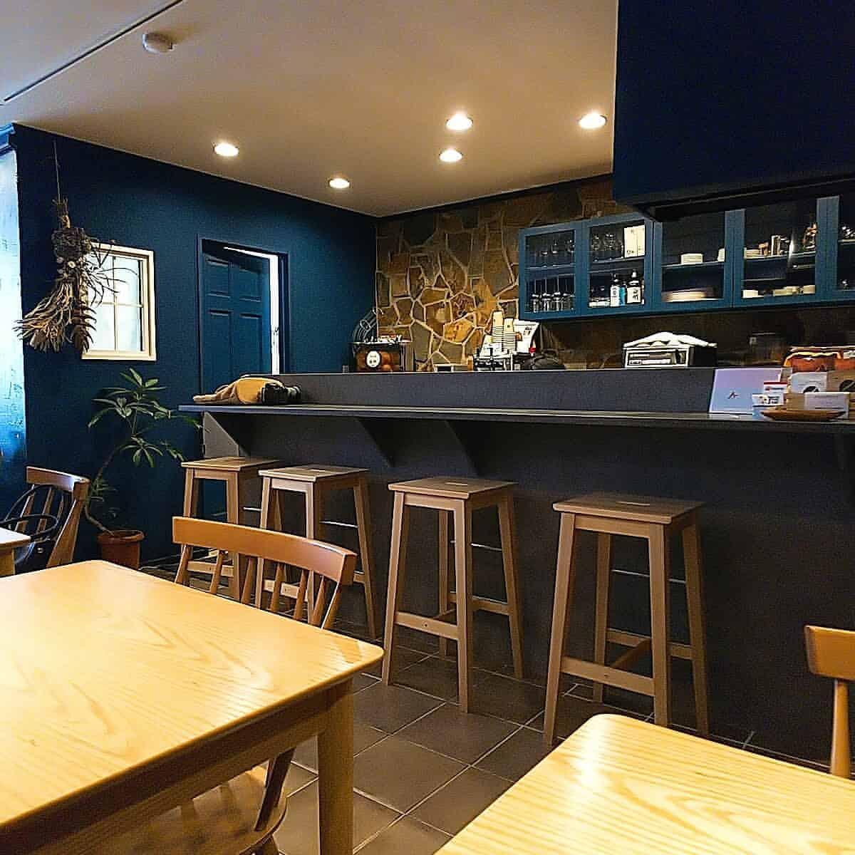 円豆珈琲の店内