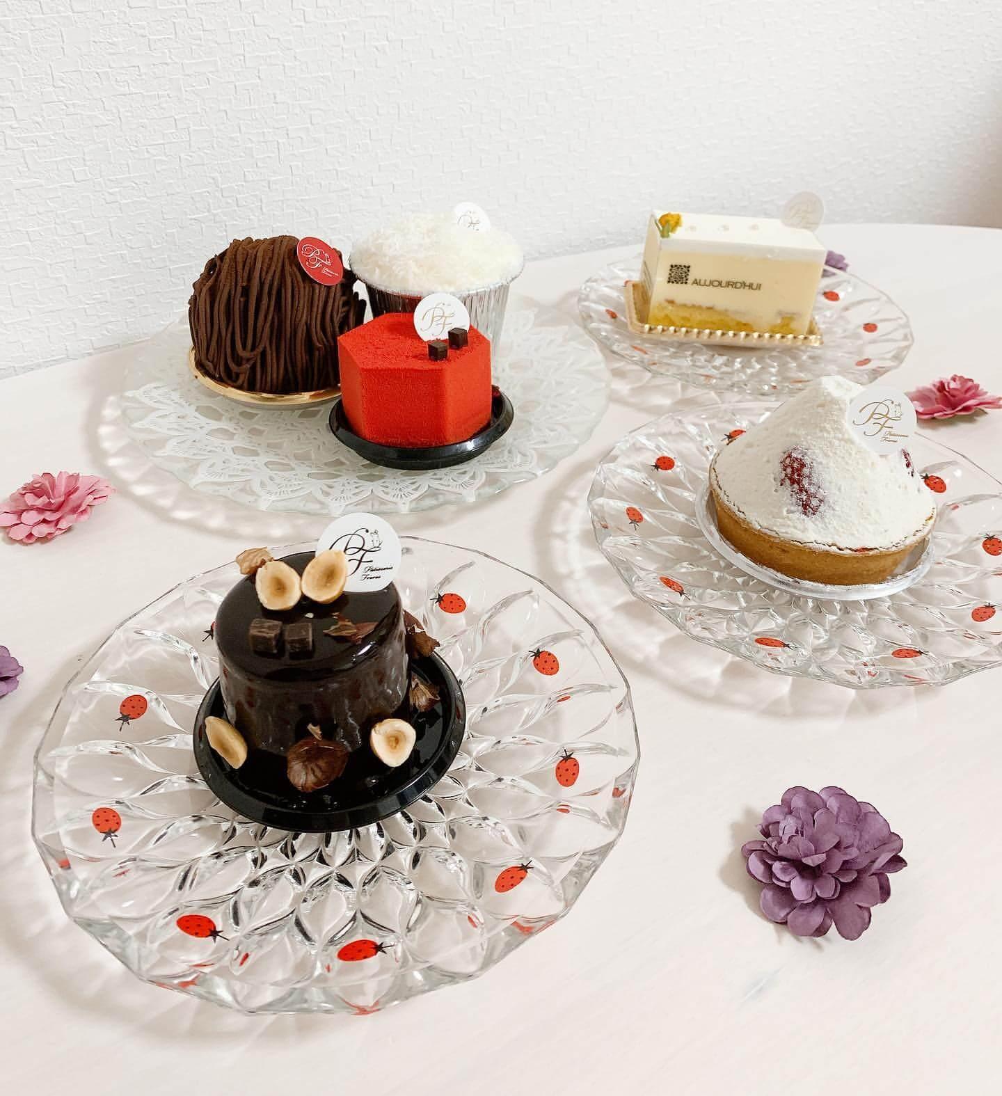 パティスリーフレールのケーキ各種