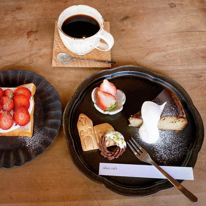 cheer cafe(チアーカフェ)のクリスマスプレート
