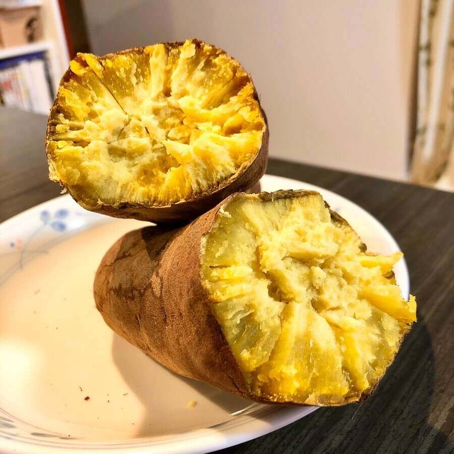 玉泉堂(ぎょくせんどう)で買った石焼き芋