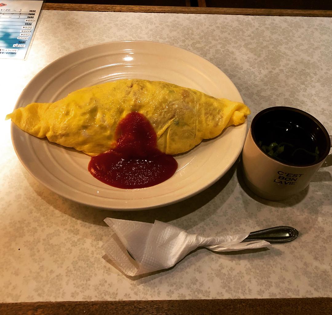 喫茶・軽食 未貴(ミキ)のオムライス