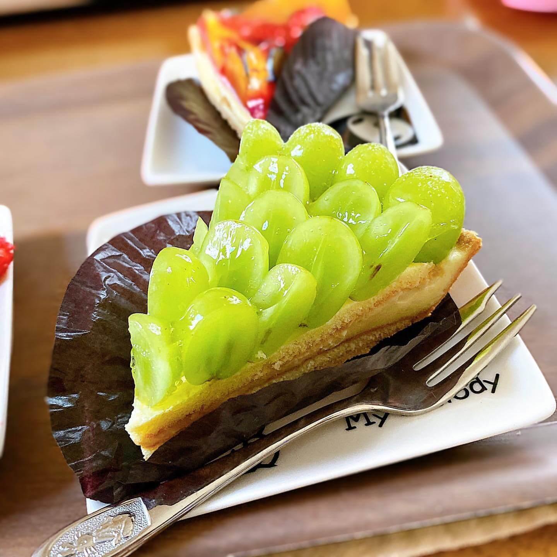 パイドール 新札幌店の『マスカットのタルトパイ』